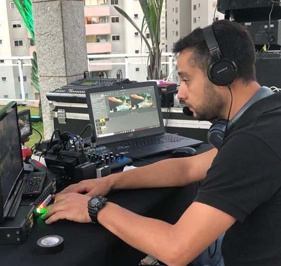Arlen Pereira – Técnico de transmissão ao vivo