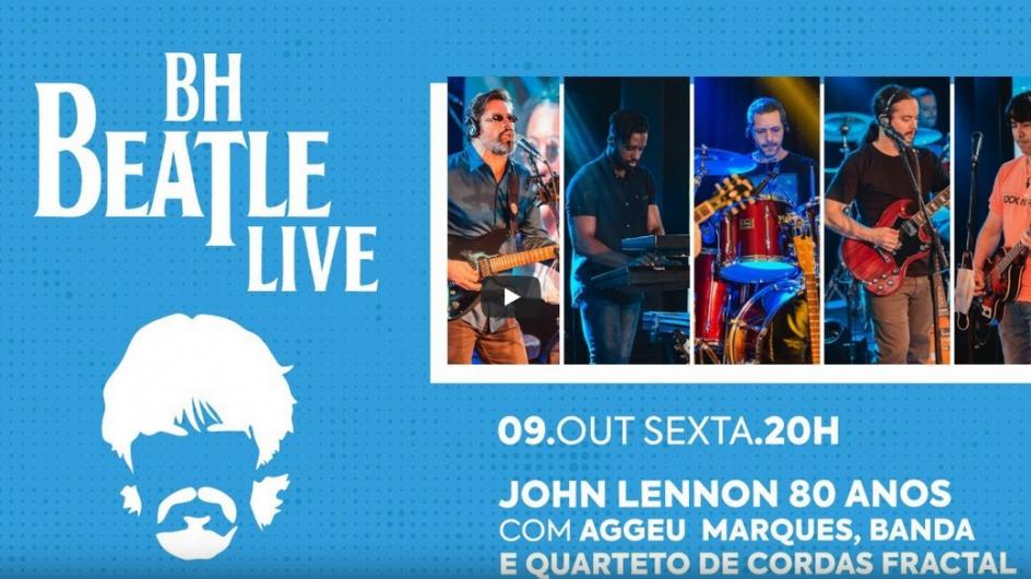 Transmissão ao Vivo – Cine Brasil (Beatles)
